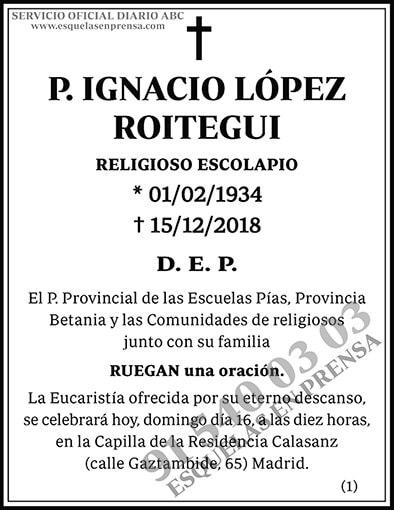Ignacio López Roitegui